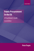 Cover of Public Procurement in the EU: A Practitioner's Guide