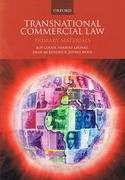 Cover of Transnational Commercial Law: Primary Materials