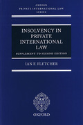 Cover of Insolvency in Private International Law: 1st Supplement to 2nd ed