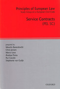 Cover of Principles of European Law Volume 3: Service Contracts