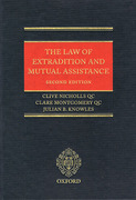 Cover of The Law of Extradition and Mutual Assistance