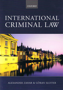Cover of International Criminal Law: A Critical Restatement