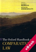 Cover of The Oxford Handbook of Comparative Law (eBook)