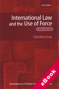 Cover of International Law and the Use of Force (eBook)