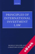 Cover of Principles of International Investment Law (eBook)