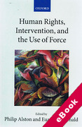 Cover of Human Rights, Intervention, and the Use of Force (eBook)