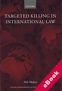 Cover of Targeted Killing in International Law (eBook)