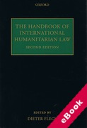 Cover of The Handbook of International Humanitarian Law (eBook)