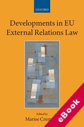 Cover of Developments in EU External Relations Law (eBook)
