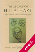 Cover of The Legacy of H.L.A. Hart: Legal, Political and Moral Philosophy (eBook)