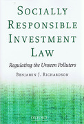 Cover of Socially Responsible Investment Law: Regulating the Unseen Polluters