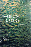 Cover of Water Law and Policy: Governance Without Frontiers