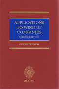 Cover of Applications to Wind Up Companies