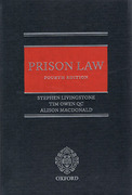 Cover of Prison Law 4th ed