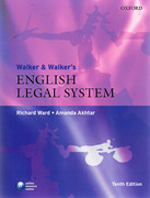 Cover of Walker & Walker's English Legal System