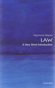 Cover of Law: A Very Short Introduction