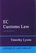 Cover of EC Customs Law