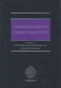 Cover of Administrative Court Practice