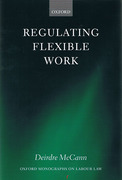 Cover of Regulating Flexible Work