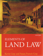 Cover of Elements of Land Law