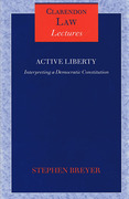 Cover of Active Liberty: Interpreting a Democratic Constitution
