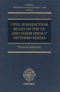 Cover of Civil Jurisdiction Rules of the EU and their Impact on Third States
