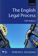 Cover of The English Legal Process