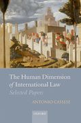Cover of The Human Dimension of International Law: Selected Papers