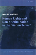 Cover of Human Rights and Non-Discrimination in the 'War on Terror'