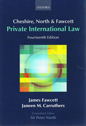 Cover of Cheshire, North & Fawcett: Private International Law