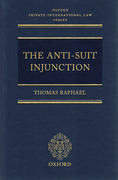 Cover of The Anti-Suit Injunction