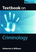 Cover of Textbook of Criminology