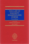 Cover of The Law of Majority Shareholder Power: Use and Abuse