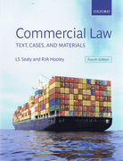Cover of Commercial Law: Text, Cases & Materials