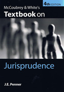 Cover of McCoubrey & White's Textbook on Jurisprudence