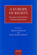 Cover of A Europe of Rights: The Impact of the ECHR on National Legal Systems