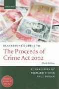 Cover of Blackstone's Guide to the Proceeds of Crime Act 2002