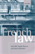 Cover of Principles of French Law
