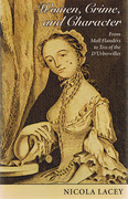 Cover of Women, Crime, and Character: From Moll Flanders to Tess of the D'Urbervilles