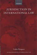 Cover of Jurisdiction in International Law