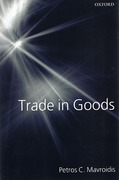 Cover of Trade in Goods: An Analysis of International Trade Agreements