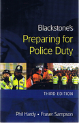 Cover of Blackstone's Preparing for Police Duty
