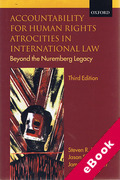 Cover of Accountability for Human Rights Atrocities in International Law: Beyond the Nuremberg Legacy (eBook)
