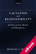 Cover of Causation and Resonsibility: An Essay in Law, Morals and Metaphysics (eBook)