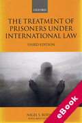 Cover of The Treatment of Prisoners Under International Law (eBook)