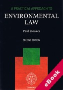Cover of A Practical Approach to Environmental Law (eBook)