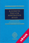 Cover of A Guide to the LCIA Arbitration Rules (eBook)