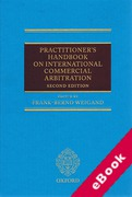 Cover of Practitioner's Handbook on International Commercial Arbitration (eBook)
