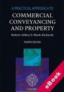 Cover of A Practical Approach to Commercial Conveyancing and Property (eBook)
