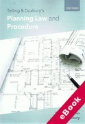 Cover of Telling & Duxbury's Planning Law and Procedure (eBook)